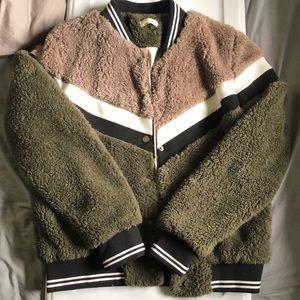 Cozy Varsity Jacket